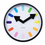 karlsson-white-pictogram-rainbow-wall-clock-30cm