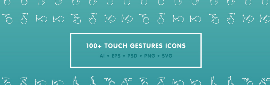 free gesture icons
